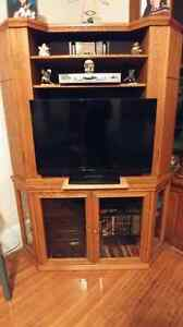 Real Wood Corner Television Unit for sale
