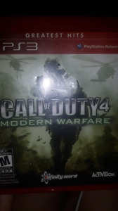 Call of duty MW4 *PS3*