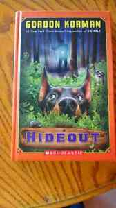 Hideout by Gordon Korman book