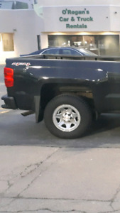 "17"" Truck Rims & Tires, Delivery Available"