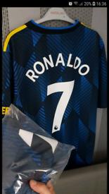 Brand new man United football top