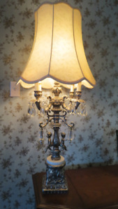 LAMPE VINTAGE CHANDELIER CHERUBIN