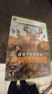 Cabelas Outdoor Adventures in great condition for Xbox 360