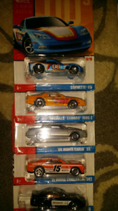 Hot wheels exclusive cars abd chase