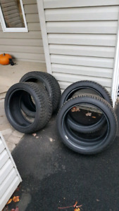 4- Gislaved Winter Tires size 245/40/R18 97T