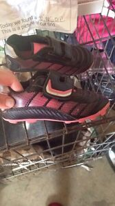 Girls size 9 soccer shoes