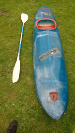 Surf wave canoe kayak