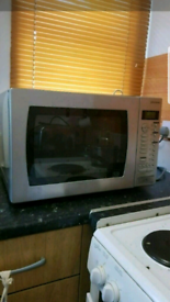 John Lewis 1000w Microwave Oven with Grill