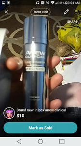 Brand new in box anti aging products from avon