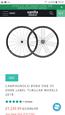 Campagnolo Bora one 35 Carbon fiber wheels