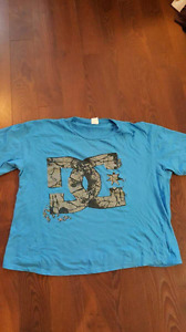 Dc shirts and element (3 t-shirts)