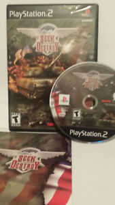PS2 Seek and Destroy Sony Playstation 2 PS2  Video Game Complete