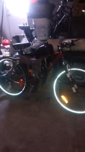 GT LTS Motorized Bike/ Bicycle