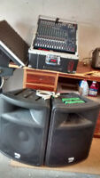 PA System Package - Guitar FOR SALE -