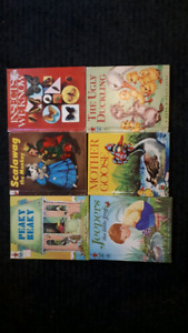 6 Rand mcNally books
