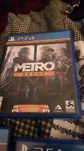 Selling mint condition  metro redux