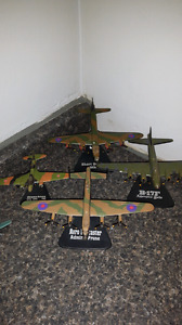 Dicast airplanes with stands 32 planes in total