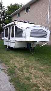 2001 palomino 10ft tent trailer REDUCED