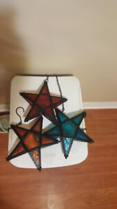 3 Pretty Star Ornaments