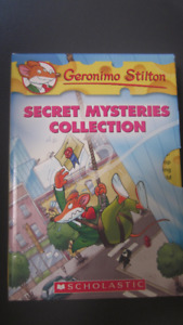 Geronimo Stilton - Secret Mysteries Collection - 3 books!