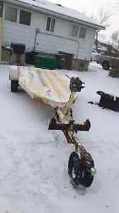 5 by 13 snowmobile trailer