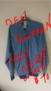 Ben Sherman New, BOSS, JCREW, LEVIS VINTAGE REPRODUCTION S,