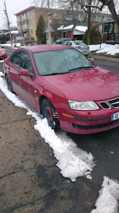 SAAB 9-3 TURBO 2007 4200$ NEGOTIABLE