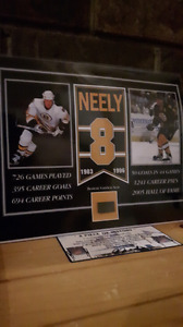 Cam neely Boston Bruins hockey picture with Forum Seat