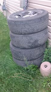 Tires and rims - Honda Ridgeline