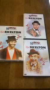 Set of 2 DVD's Red Skelton