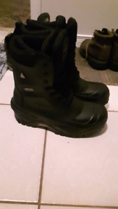Baffin WorkHorse steel toe boots mens size 8