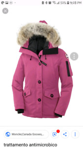 Looking for pink canada goose jacket