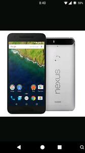 Nexus 6p.  Factory unlock.  Argenter