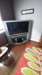 Tv. With stand