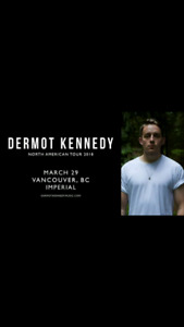 Dermot Kennedy - Vancouver - Tickets for Sale