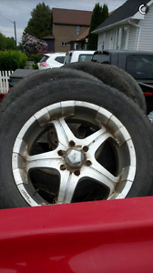 "Selling a set of 20"" rims $300"