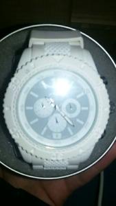 White Aero watch