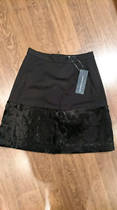 BNWT French Connection pony patch skirt size 4