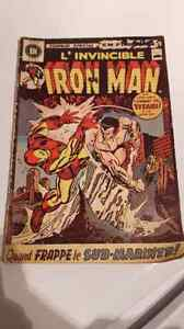BD l'invicible iron man