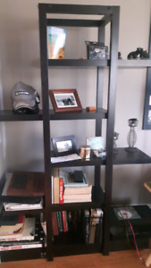 Black book shelf