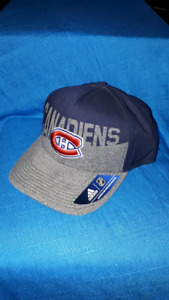 Montreal Canadiens Adidas Snap Back Hockey Hat BRAND NEW