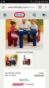 Little Tikes Table and Chairs Set  London Ontario image 3