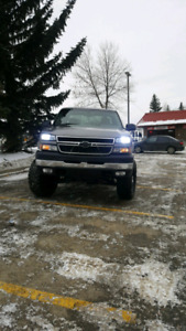 2007 Chevy 2500hd Lifted