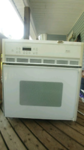 Frigidaire Gallery wall convection oven