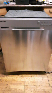 "Samsung 24"" Stainless Dishwasher DW80J3020US"