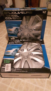 """Hubcaps / wheel covers 15"""""""