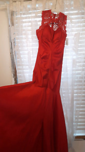 Gorgeous Red Mermaid Dress ♡NEW With Tags ♡