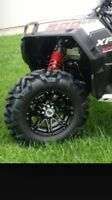 WANTED  rims and tires for RZR
