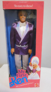 1989 My First Ken Barbie doll