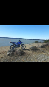 2009 wr250r street and trail